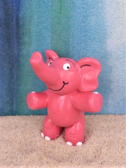 'Der Rosarote Elefant' / Pink Elephant