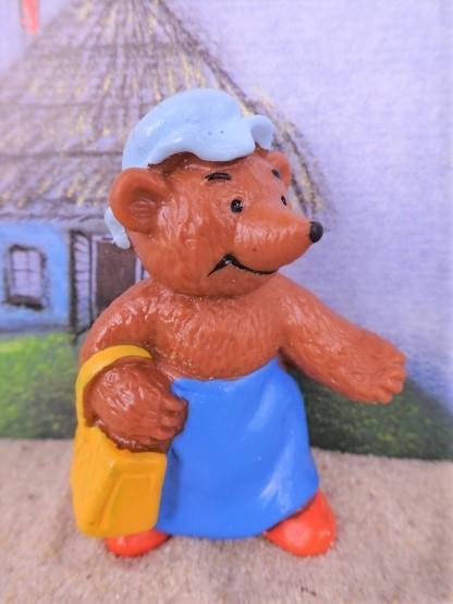 'Bärenmutter' mit Handtasche - Serie 'Familie Braun'