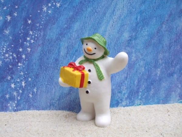 Raymond Briggs: 'Snowman' ... mit Geschenk