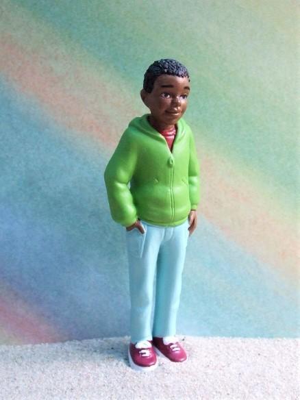 ...del mundo: Afroamerika - 'Teenager Junge'