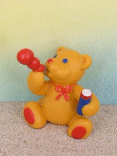 'Pustefix-Bär' - Kultfigur mit Seifenblasen