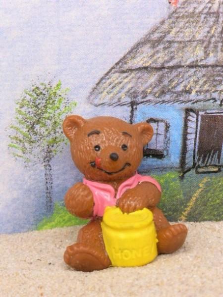 Familie 'Brown' - Bärenjunges mit Honigtopf
