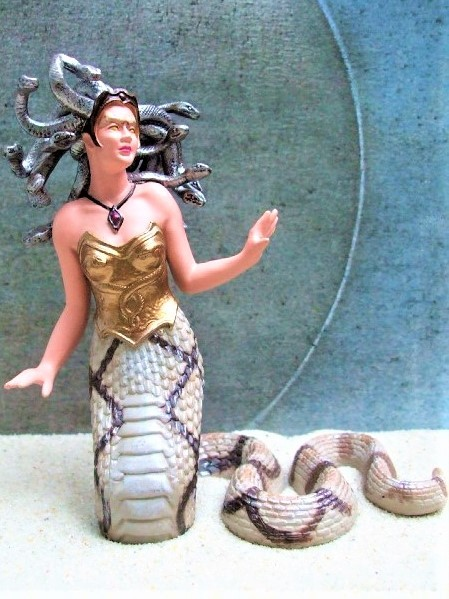 'Medusa' - Gorgone der griech. Mythologie