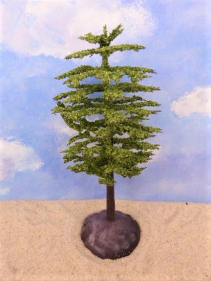 Baum / Solitärbaum ... Baumkrone beflockt