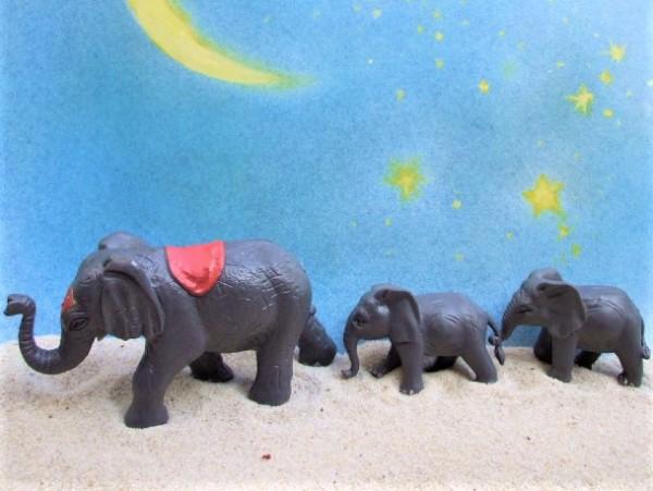 Elefantenfamilie - 'Circus Mondolino'