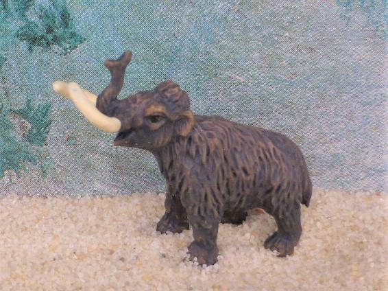 Wollhaar-Mammut - Serie 'Good Luck Minis'