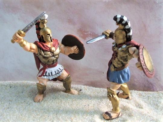Achilles & Spartacus - Serie 'Mythologie'