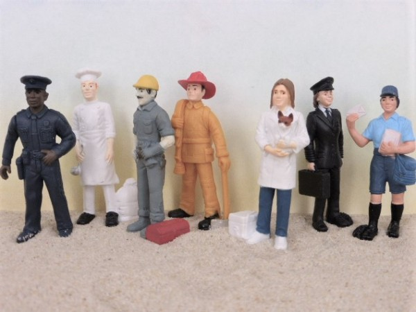 Röhre: Berufe - 'Little Professions'