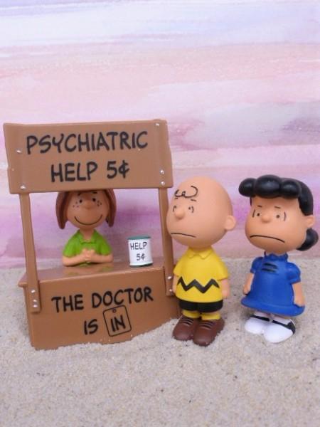 The Peanuts Scenery Pack: 'Psychiatrische Hilfe'