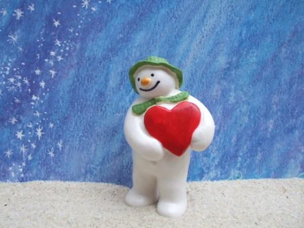 Raymond Briggs: 'Snowman' ... mit Herz