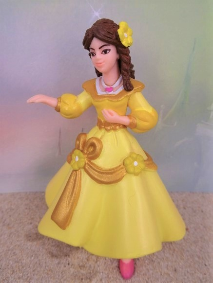 Prinzessin 'Belle' ... im gelben Gewand