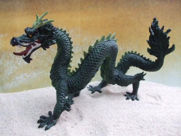 Waldgrüner chinesischer Drachen - XL