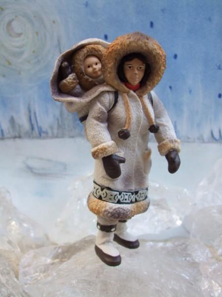 Inuit - Frau mit Baby