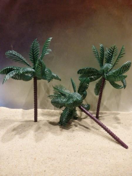 Set: Drei größere Palmen