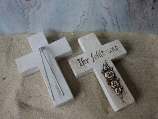 Grabkreuz mit Inschrift - XL