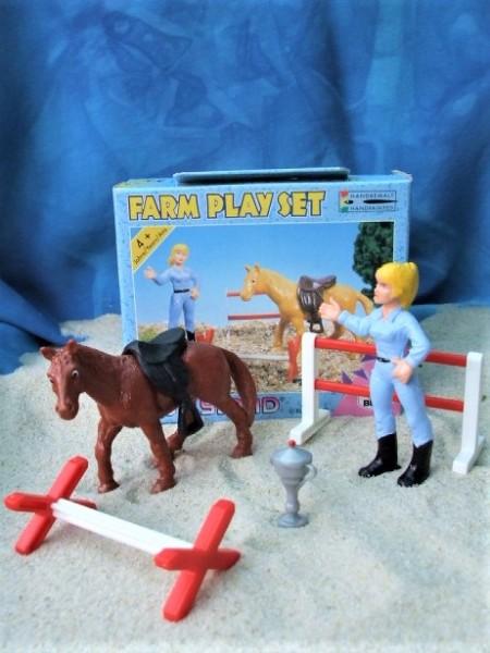Farm Play Set 'Springreiten'