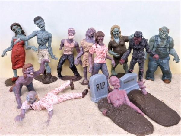 Super-Röhre: 'Zombies' – Minifiguren