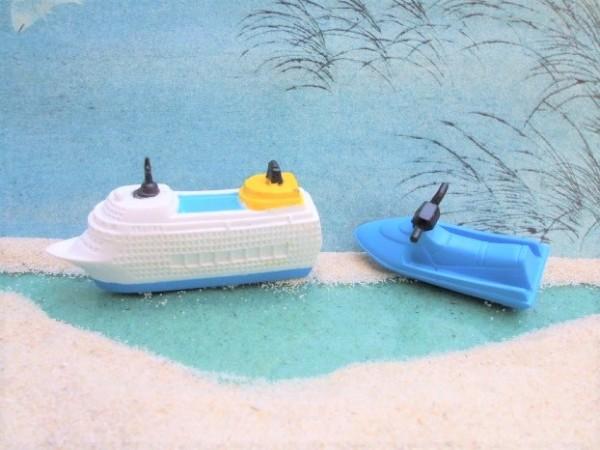 'Little Boats' - Kreutzfahrtschiff & Jet-Ski