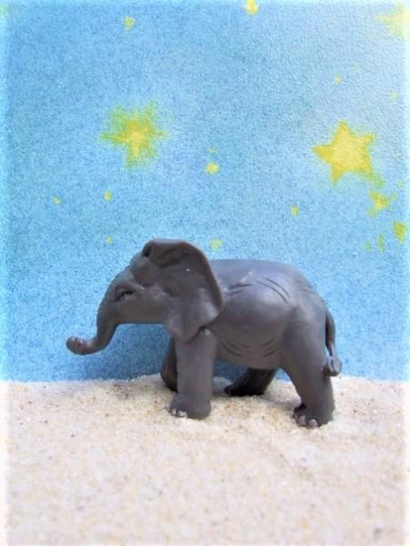 Laufendes Elefantenbaby B - 'Zirkus Mondolino'
