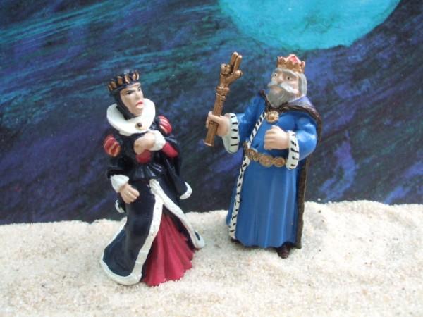 'Little Tales' - König & Launische Gemalin