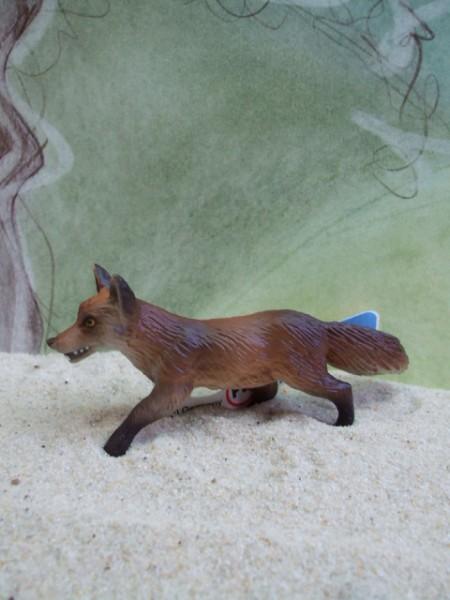 Fuchs - jagend