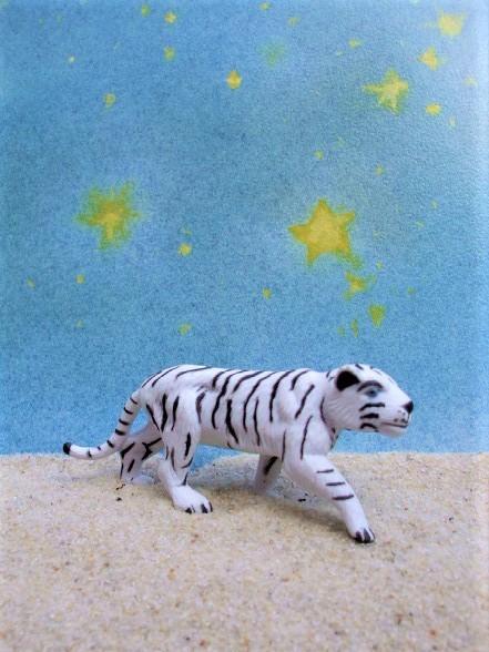 Weißer Tiger... laufend - 'Circus Mondolino'