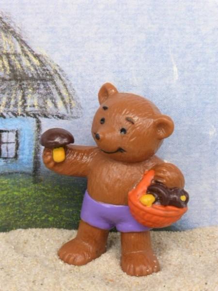 Familie 'Brown' - Bärenjunge mit Pilzkorb