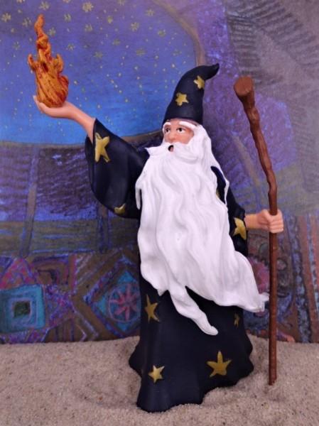 'Merlin' der Zauberer ... mit Feuerkugel