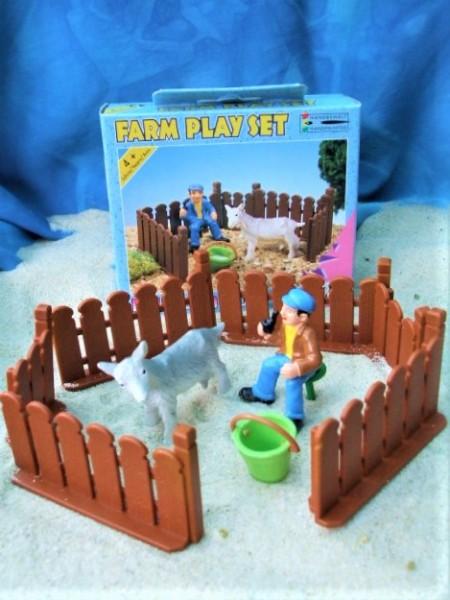 Farm Play Set 'Ziegen melken'