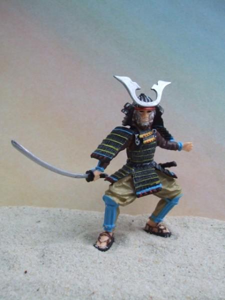 Samurai - Schwertkämpfer in Rüstung