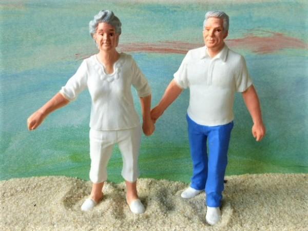 Set 'Familie': Großvater & Großmutter