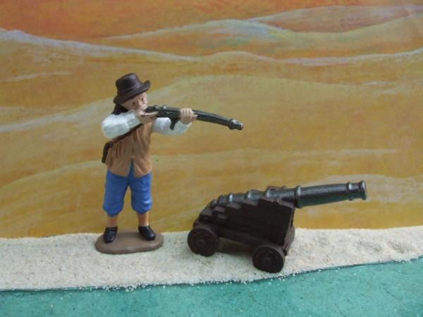 'Little Settlers - Siedler mit Flinte & Kanone