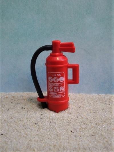 Feuerlöscher... mit beweglichem Schlauch